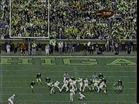 2001: Ohio State v. Michigan (Drive-Thru)