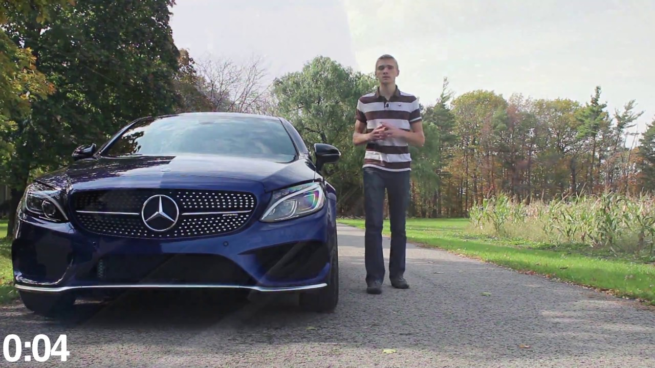 2017 mercedes c43 amg 4 matic 90 second car reviews youtube for Performance mercedes benz st catharines