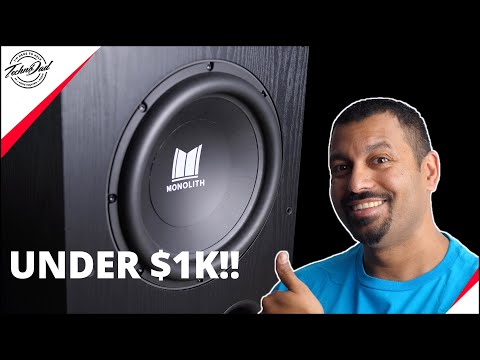 """Lookout SVS, There's a New Kid on the Block! Monoprice 12"""" THX Ultra Certified Subwoofer Review"""