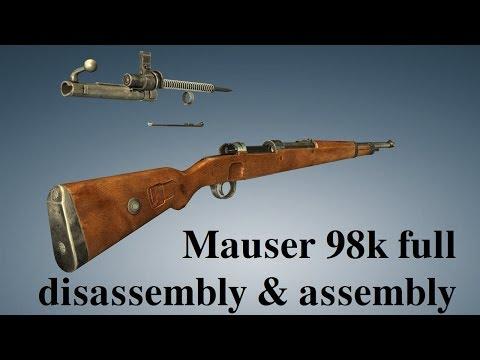 Mauser 98k: full disassembly & assembly