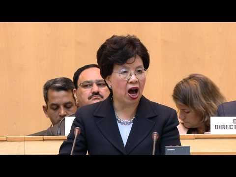 WHA 68 - Speech by Dr Margaret Chan, WHO Director-General