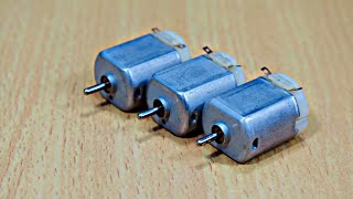 3 Awesome Ideas With Dc Motor