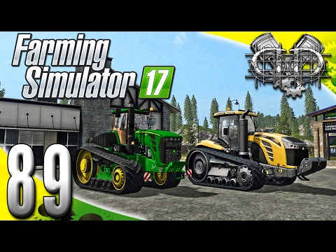 Farming Simulator 2017 Gameplay :EP89: John Deere 9630T & Challenger MT800E! (PC Goldcrest Valley)