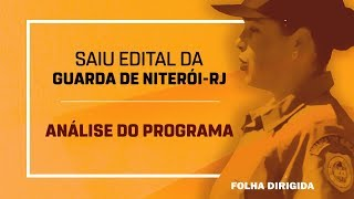 Concurso Guarda de Niterói-RJ: confira análise do edital