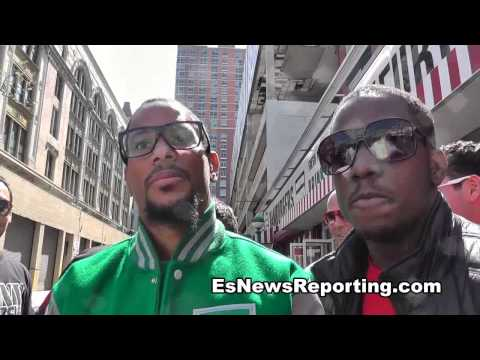 Angels Garcia on streets of new york danny garcia vs zab judah – EsNews Boxing
