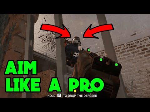 How To Aim Like A Pro - Rainbow Six Siege Gameplay