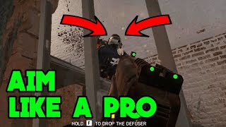 How To Aim Like A Pro - Rainbow Six Siege Gameplay