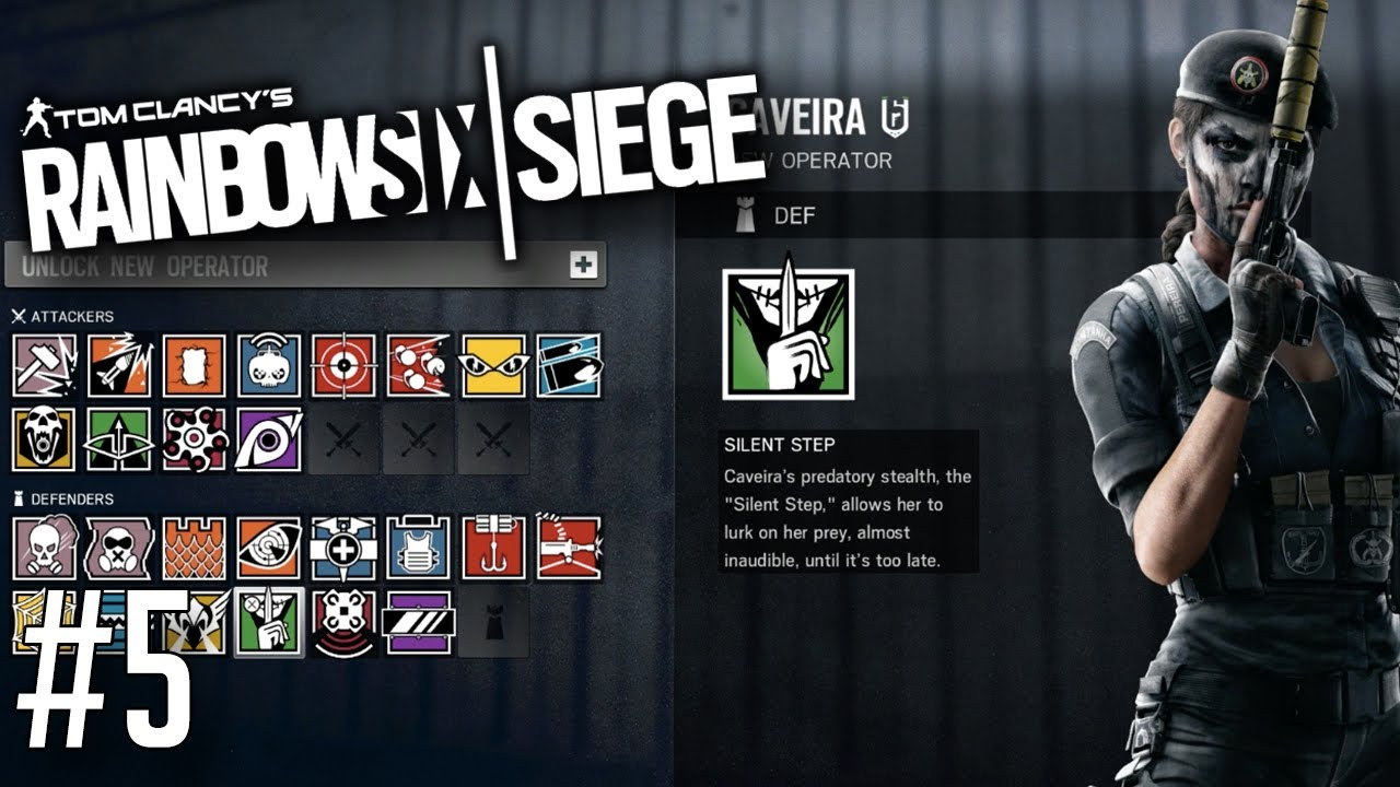 r6 siege year 1 operators