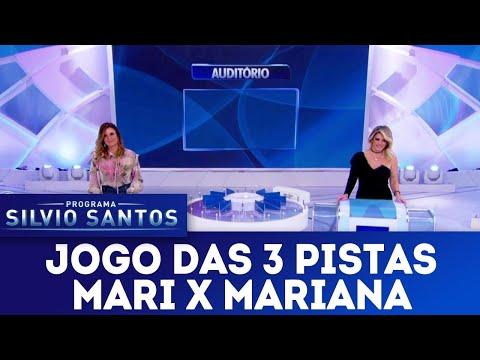 Jogo das 3 Pistas com Mari Alexandre x Mariana Kupfer | Programa Silvio Santos (29/07/18)