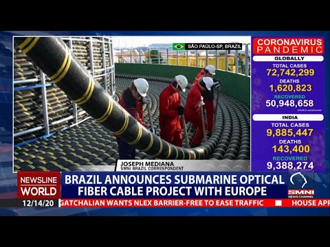 Brazil announces submarine optical fiber cable project with