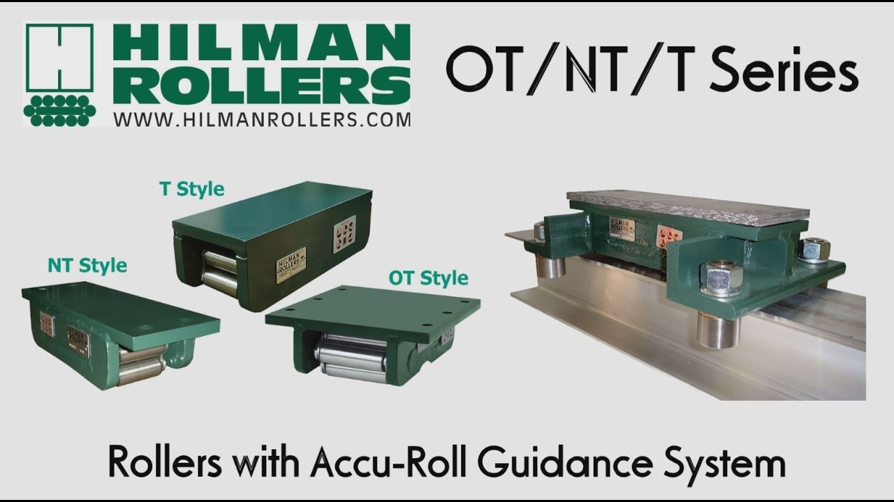 hilman ot  nt  t series rollers with accu