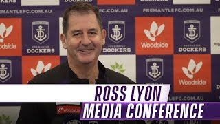 Lyon wants to reward Freo members with results | Media Conference: Wednesday 22 May - Round 10