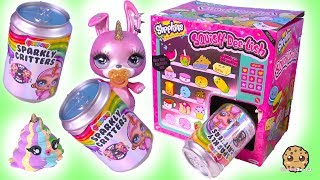Slime Surprise ! Poopsie Sparkly Critters Big Blind Bag SODA CANS Vending Machine