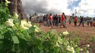 Guam Sailors and Local Residents Partner to Build Community Garden