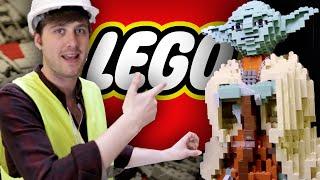 We Went Inside The Secret Lego Vault