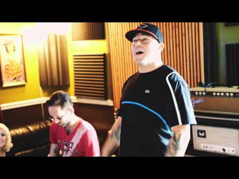 Meghan Linsey & Bubba Sparxxx in the Studio