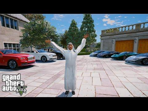 THE LUXURY DUBAI LIFESTYLE-GTA 5 Prince of DUBAI Mod
