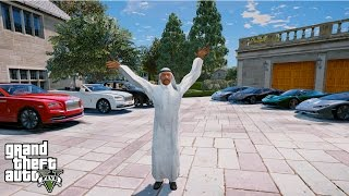 THE LUXURY DUBAI LIFESTYLE-GTA 5 Prince of DUBAI Mod