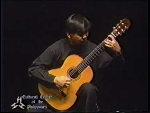 Angelito Agcaoili Plays Five Studies By Frederic Hand