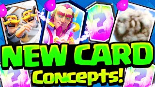 Clash Royale Update Concepts - NEW Legendary, Epic, Rare Cards!
