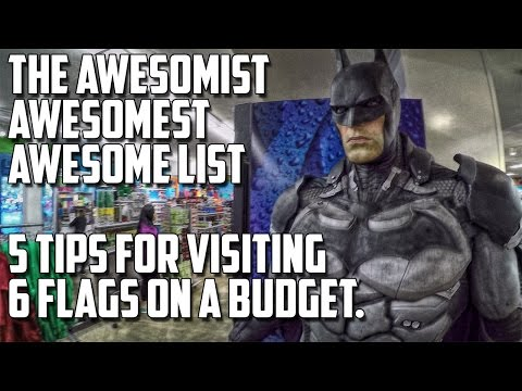 Top 5 Tips for Visiting Six Flags Magic Mountain for Less.