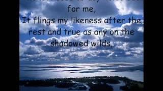 "Walt Whitman ""Song of Myself"" Section 52"