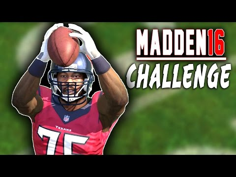 Can Vince Wilfork Play Cornerback? - Madden 16 NFL Challenge!