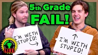 Download Are You Smarter Than A 5th Grader? w/ Because Science & Vsauce3 (St. Jude Charity Livestream) Mp3 and Videos