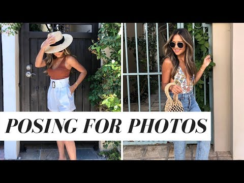 How To Pose For Instagram | 10 Easy Photo Poses