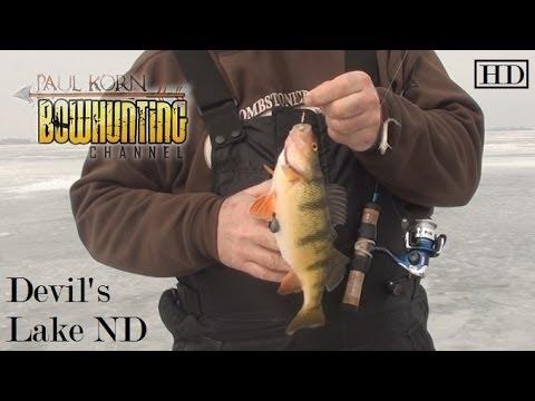 North dakota prairie perch march 2014 doovi for Webster sd fishing report