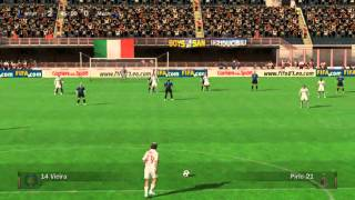 FIFA07 PC Gameplay Internazionale Milano vs. AC Milan