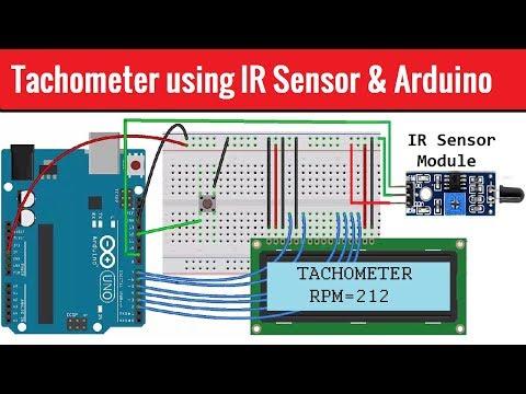 New Digital Tachometer Speed Module Sensor for Arduino UNO
