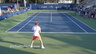Tsitsipas v Moeller, 2016 US Open juniors, round three, 4K