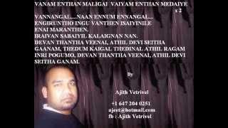 Devan thantha veenai - Tamil karaoke songs