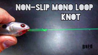 Zapętlaj Non-Slip Mono Loop Knot | Fishing POV