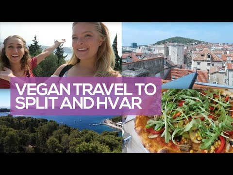 Vegan Travel to Split and Hvar