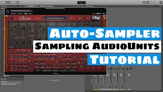 Mainstage Auto-Sampler Tutorial - Sampling-AudioUnit (AU) Plugins | SYNTH-ANATOMIE