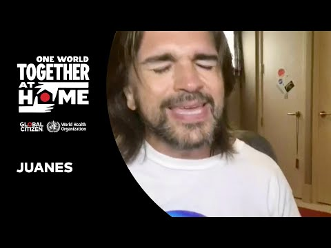 Juanes Performs Es Por Ti   One World: Together At Home