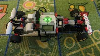 Formula race car Lego Mindstorms Ev3