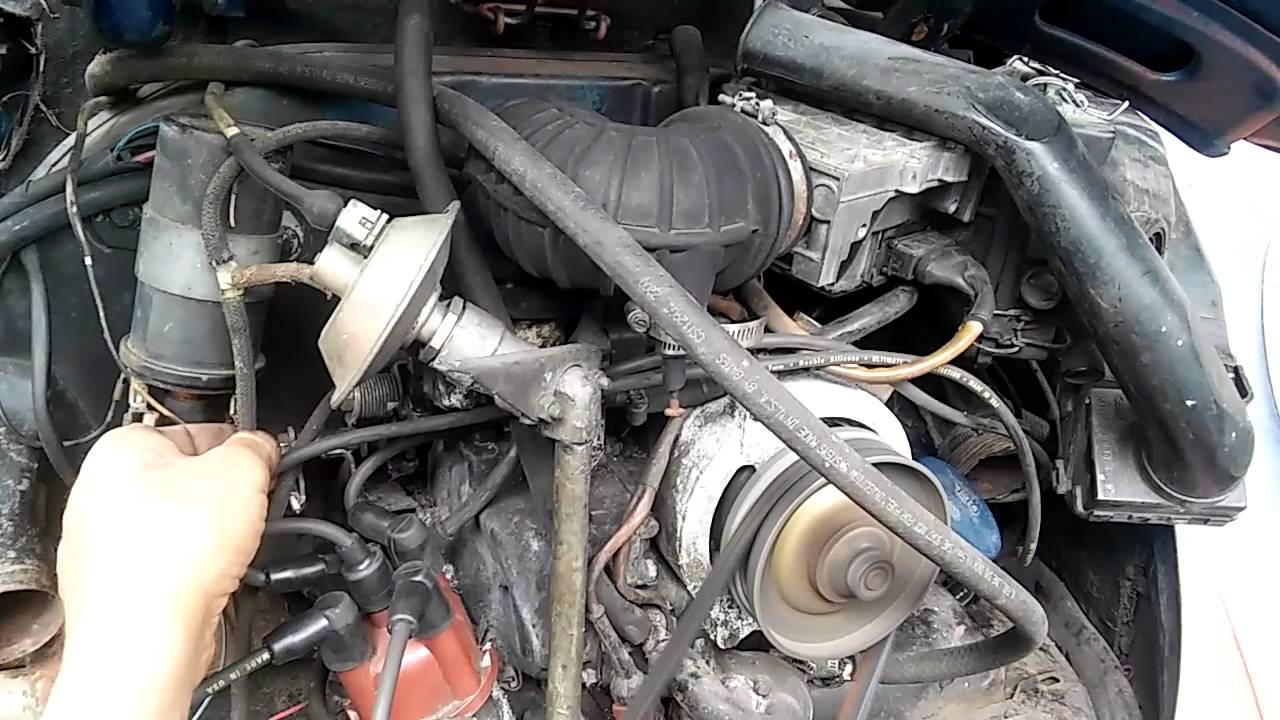 1977 vw bug fuel injection project [ 1280 x 720 Pixel ]