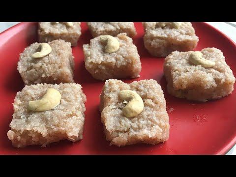 Fresh Coconut burfi recipe nariyal ki burfi recipe