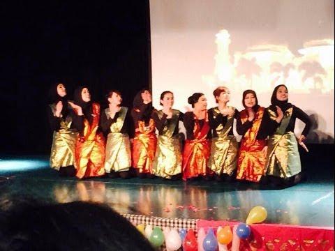 Saman Dance PPI Glasgow - Indonesian Cultural Day 2014