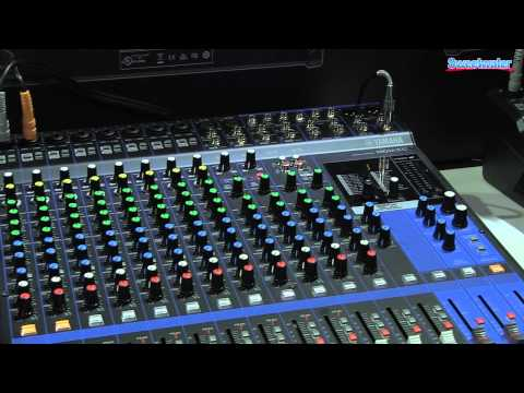 Yamaha MG Series Mixer Overview - Sweetwater at Winter NAMM 2014