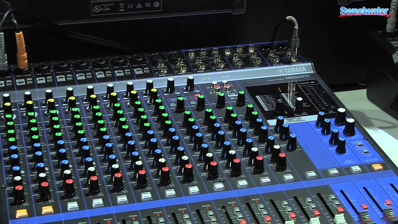 Yamaha mg series mixer overview sweetwater at winter for Yamaha mg series mixers