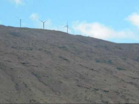 Maui's wind turbines