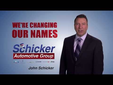 Schicker Automotive Group Name Change TV
