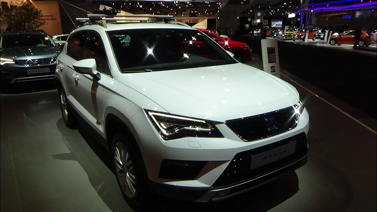 2018 seat ateca xcellence exterior and interior auto show brussels 2018 youtube. Black Bedroom Furniture Sets. Home Design Ideas