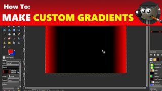 How to Use Pallets & Create Custom Gradients in GIMP | Using GIMP Tutorial