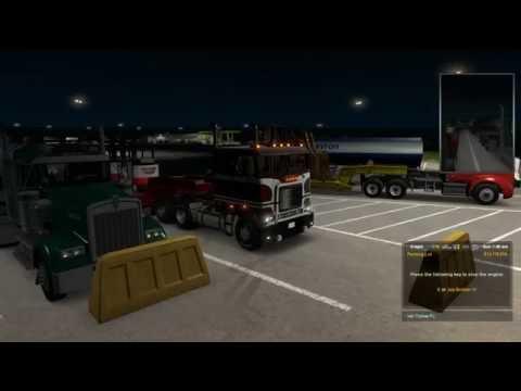 American Truck Simulator: Key West, FL to Mobile, AL