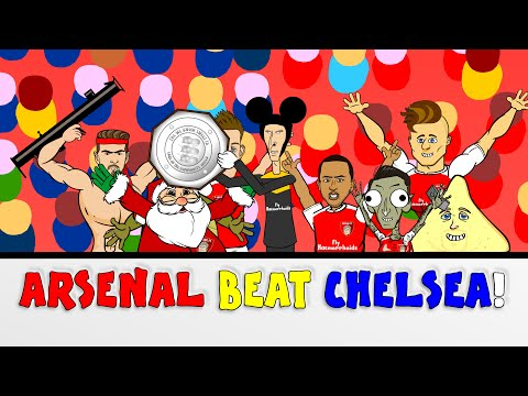 wenger-beats-mourinho-arsenal-vs-chelsea-1-0-community-shield-2015(cartoon-goals-highlights)